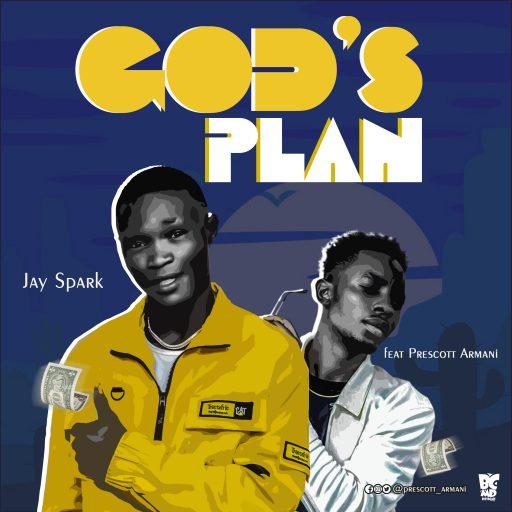 Download Music: Jay Spark – Gods Plan Ft Prescott Armani