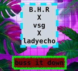 Music: Bangin Hitx Ft. VSG & Lady Echo – Buss It Down