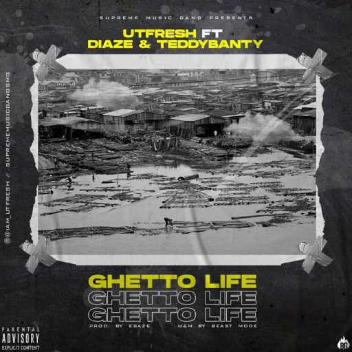 Music: Maestro Music Ft Hillzbaby & Freetown - Ghetto Life (Prod. Ebaze)