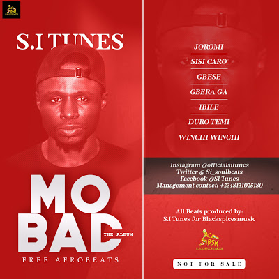 """Freebeat: Mo Bad """"Afrobeats Collection"""" (Prod By S.I Tunes)"""