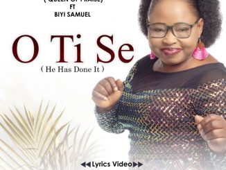 Video Ayaba Esther George JP ft. Biyi Samuel - 'O Ti Se'