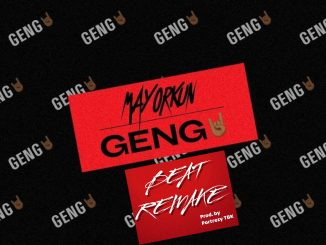 Instrumental: Mayorkun - Geng Beat Remake