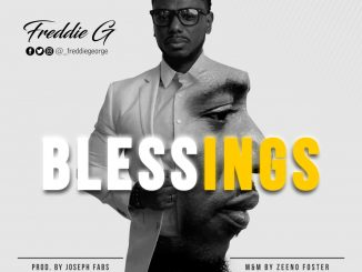 Freddie G - Blessings (Prod by Joseph Fabs) art